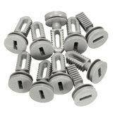 10pcs traço forro de inicialização tampa de plástico cortar clipes para bmw e30 e36 e46 e60 E83 E93