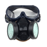 PVC/TRP Activated Carbon Gas Mask Spray Chemical Paint Anti-formaldehyde Dustproof Mask Fire Army Full Face Protective Mask