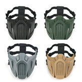 Anti Dust Breathable CS Mask Safety Protective Tactical Half Face Mask Adjustable Elastic Bandage Masks