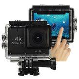 Câmera XANES M22 4K WiFi Sport Touch Screen Vlog Câmera impermeável DV Video Action Camera PC