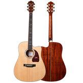 Morgan CP600-DC / CP600-GC Klasa A Sitika Single Board Acoustic Model 41-calowa gitara ludowa Początkujący nowicjusz Wejście na gitarę Samce i studentki Samouczące się instrumenty muzyczne