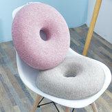 Anneau lavable coussin de siège rond antidérapant efficace chaise de soulagement de la douleur coussin de siège de bureau de voiture