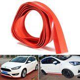 2.5M X4.5CM Car Front Lip Bumper Strip Spoiler Skirt Rubber Protector