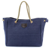 Women Canvas Rope Tote Bags Casual Shoulder Bags