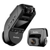 Zenfox T3 2K 3CH Üç Kanallı Çizgi Kam Araba DVR 1080P Arka Kamera Sony Starvis IMX335 Video Kayıt Desteği 2.4GHz 5GHz Wifi