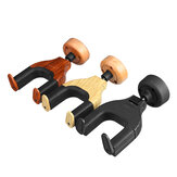 3 Color Guitar Bass Wooden Wall Mount Hangers Holder Hook Keeper Bracket Hanger