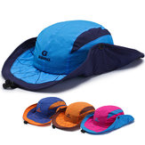 Mens Foldable Breathable With String  Bucket Hat