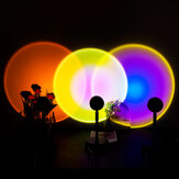 USB Powered Rainbow Projector Lamp The Atmosphere Never Sets LED Night Light Floor Lamp Home
