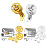Silver/Gold  Right Type Shock Absorber Tank Load-Bearing Wheels with Hanging Accessories
