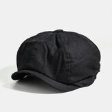 Men Cotton Newsboy Cap