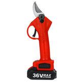 36V 25mm sécateur électrique sans fil 13000mAh coupeur de ciseaux de branche Rechargeable avec boîte à outils en plastique