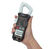 MUSTOOL X2 Pocket 6000 telt True RMS stroomtang AC Voltage & Current Digitale multimeter Automatische digitale meter met Square Wave-uitgang Ω / V / A / Diode / Frequentie / Continuïteitstest