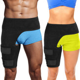 Adjustable Groin Support Men Women Compression Sport Thigh Waist Wrap Strap Sports Protective Gear for Cycling Bodybuilding Running Ourdoor Sports
