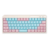 KBDfans 78/98/122 Keys Pink & Blue Keycap Set Cherry Profile PBT Sublimation Keycaps for Механический Клавиатура