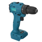 25 Torque 2 Speeds Brushless Cordless Electric Drill Impact Wrench For 21V Battery