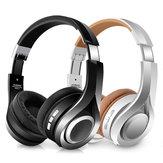 HiFi Stereo Trådløs Bluetooth Hovedtelefon Headset Sammenfoldelig Hovedtelefon med Mic
