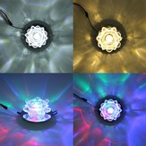 Moderne 3W Crystal LED Lotus Plafond Light Fixture Flush Mounted Lamp voor de gang van de gang