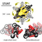 HC-801 2.4G 35CM RC мотоцикл Stunt Авто Модели автомобилей RTR Высокая скорость 20 км / ч 210 мин Время использования