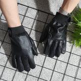 Luvas de proteção de trabalho de jardinagem Luvas resistentes à perfuração de couro