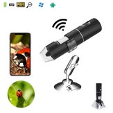 2MP Full HD 1080P WIFI Digital 1000x Microscope Magnifier Camera for iPhone ios Android iPad Built-i