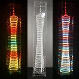 Kleurrijke Bluetooth Canton Tower Onderdelen 32 Lagen * 32 Kolommen Elektronische DIY Kit LED Licht Cube Muziek Ppectrum