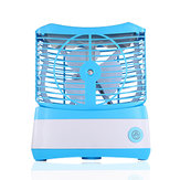 USB Portable Mini ABS Fan Cooling Desktop Air Conditioner Fan Humidified Foggy