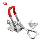 5Pcs 180Kg/397Lbs Quick Latch Type Toggle Clamp Catch Adjustable Lever Handle