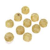 10Pcs Pipe Screen Filter Ball Combustion-supporting  Reticular Ball Replacement Tools Kit