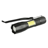 XANES 103C-COB T6+COB 1000Lumens 4Modes Brightness Zoomable Tactical LED Flashlight