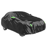 210T Silver Coated Car Cover Dustproof Sunscreen Rainproof Car Protected Full Cover