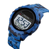 SKMEI 1585 Waterproof LED Digital Watch Chronograph Alarm Camouflage Men Outdoor Watch