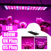 600W LED Grow Light Hydroponic Spectrum Full Indoor Planta Veg Flower Panel Lamp AC85-265V