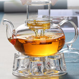 Heat-resistant Glass Teapot Filter Bubble Teapot Borosilicate Glass Flower Teapot Glass Pot