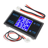 DC 50V 5A LCD Display Digital Voltmeter Ammeter DC 12V Wattmeter Voltage Current Power Meter Detector Tester Monitor 250W