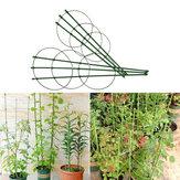 45センチクライミングつるラックプラスチックコーティングされた鉄の植物サポートフレームガーデンバルコニー植物フラワートレリス