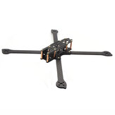 HSKRC XL5 / 6/7/8/9 232/283/294/360 / 390mm Fibra de carbono FPV Racing Frame kit para drone RC