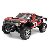 HSP 94763 1/8 2.4G 4WD 540mm Versión Superior GP Rally Lacerea Rc Coche Metanol Powered Toy