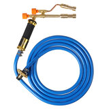 Welding Torch Electronic Ignition 2 Head Welding Nozzle Liquefied Gas 3M Hose For Soldering