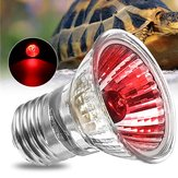 AC220V E27 75W Amphibian Bird Snake Heat Reptile Bulb Light Red Heating Lamp