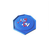 48x48cm Crokinole Board Game Puzzle for Adults Children Family Play Table Top