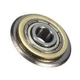 22x6x6 ملليمتر الروتاري تحمل قطع عجلة بلاط القاطع استبدال الغيار شفرة أداة