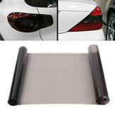 30x180cm Light Black Car Headlight Film Taillight Vinyl Tint Fog Light Protection Sheet Sticker DIY