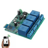 12V 4 Channel Relay Module bluetooth Mobile Phone Wireless Remote Control Switch