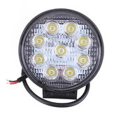 27W Car 9LED Ronde Work Light Bright Lamp White Voor Camp Truck ATV