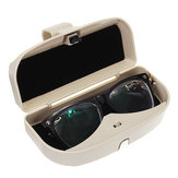Car Auto Sun Visor Clip Holder Storage Box for Sunglasses Glasses  Case