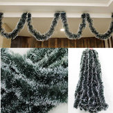 Kerstmis 2M Dark Green Ribbon Decor Kerstboom Ornament Decoratie Holiday Party Supplies