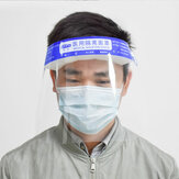 Medizinische Maske erhöht HD Schutzhülle Isolation Schutzabdeckung Anti-Fog Anti-Gas Enhanced Face Mask