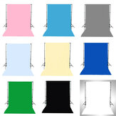 1.5x3M Verde Negro Blanco Azul Amarillo Rosa Gris Color sólido Fotografía Fondo Fondo Estudio Prop