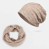 Hollow Breathable Beanie Hat Sunscreen Thin Scarf Hat Dual-use Cap