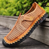 Heren Outdoor Handstiksels Sneldrogende Mesh Casual Waterschoenen